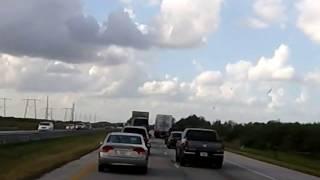 U.S. ROAD RAGE SOUTH FLORIDA TURNPIKE NORTH BOUND