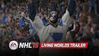 NHL 15 Gameplay Series: Living Worlds
