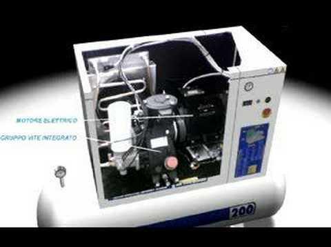 Silver 10 Super Silent Rotary Screw Compressor Fiac