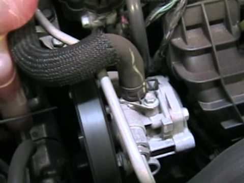 Dodge Caliber 08 CRD alternator removal method Doovi