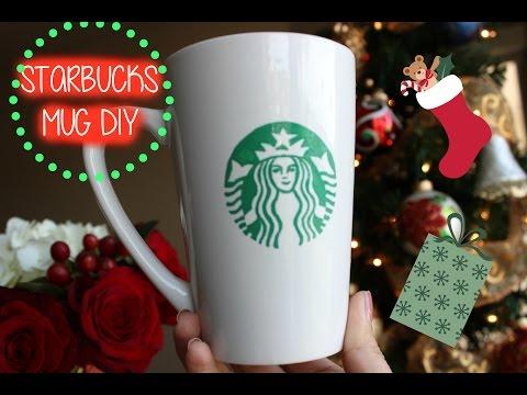 Starbucks Coffee Lover Gift Idea:  Starbucks DIY Mug ($3)