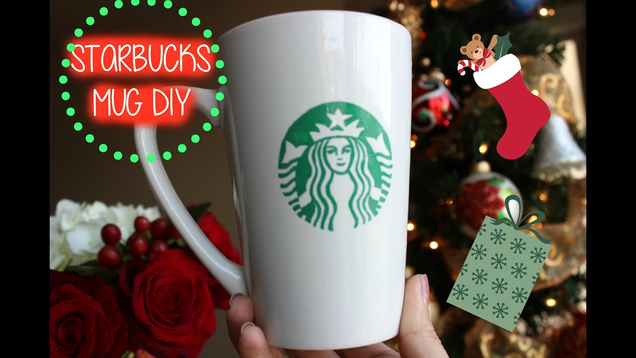 Starbucks Coffee Lover Gift Idea: Starbucks DIY Mug ($3 ...