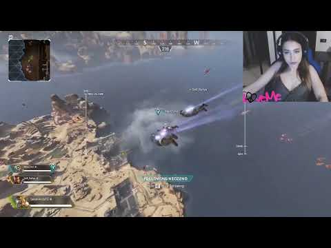 Apex Legends! ⭐ GIRL GAME 💝 Plays Funny Reaction Of The Face✖TestNewHero✖TopStream✖Go2ksubs