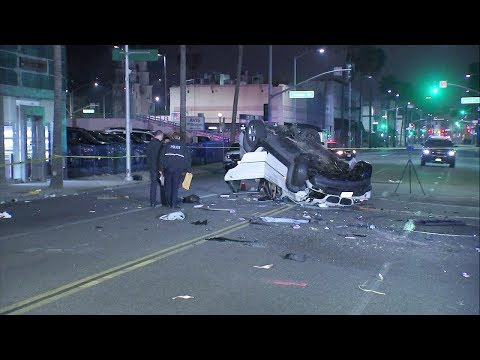 2 women killed, 4 others hurt in suspected DUI crash in Beverly Hills I ABC7