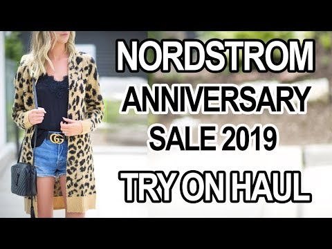 NORDSTROM ANNIVERSARY SALE TRY ON HAUL + SHOPPING GUIDE thumbnail