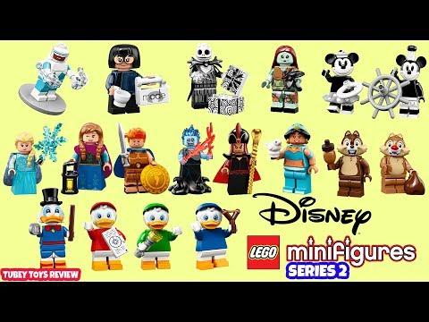 Lot of 2 Lego Disney Series 2 Minifigures Jasmine /& Jafar from Aladdin New 71024