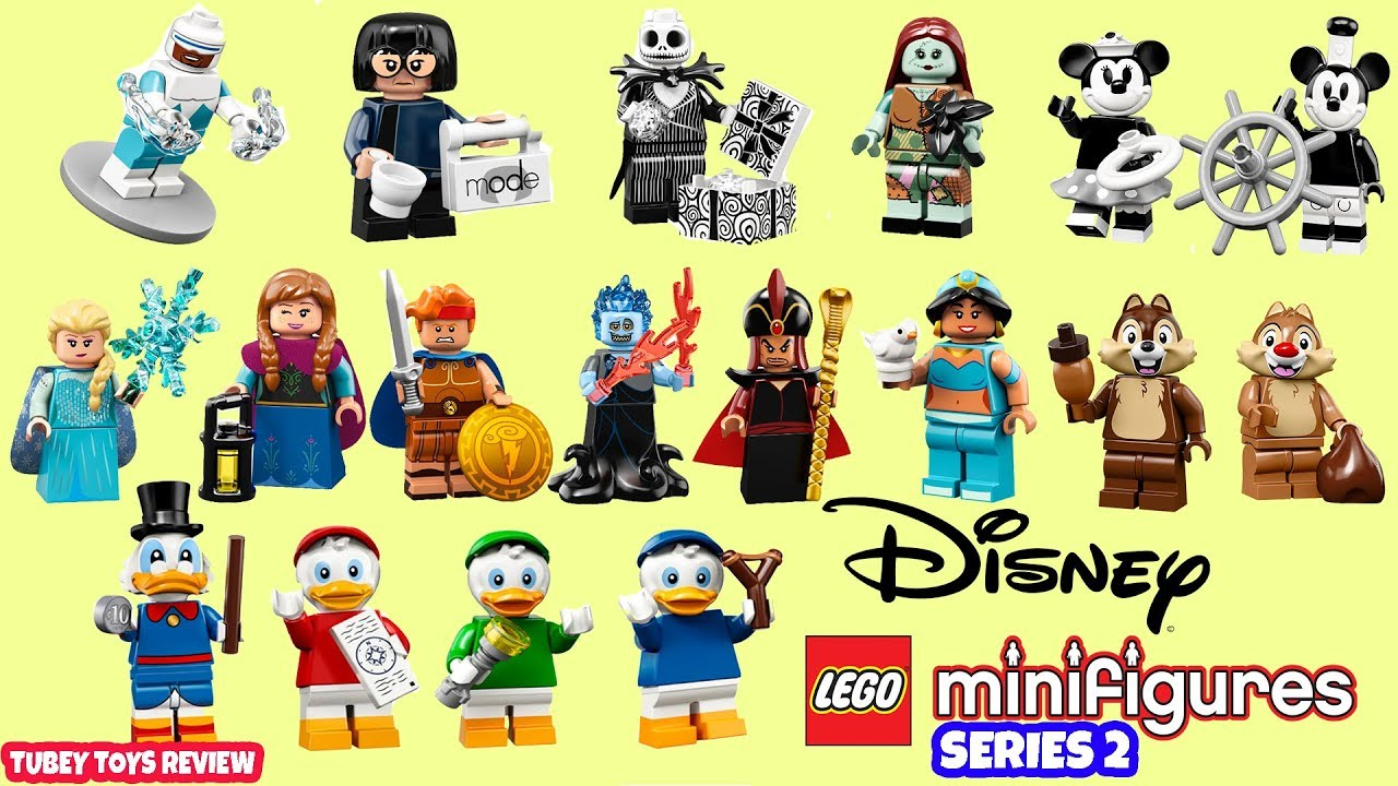 McDuck Jafar... LEGO ® Minifigures 71024 Disney Series 2 Mickey Jasmin Minnie