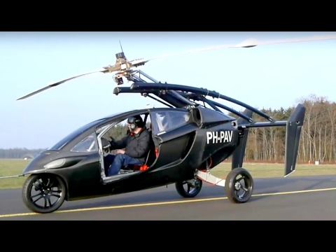 PAL-V begins pre-sales of its flying car