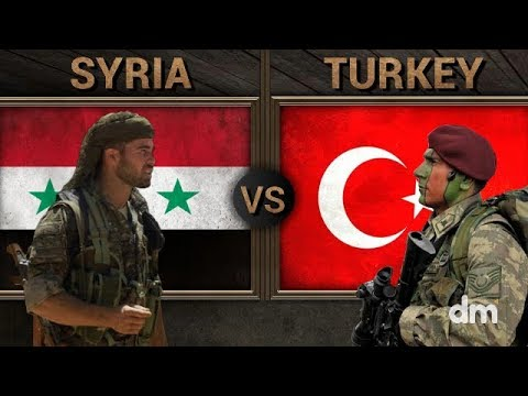 Syrian Arab Republic vs Turkey - Army/Military Power Comparison 2018