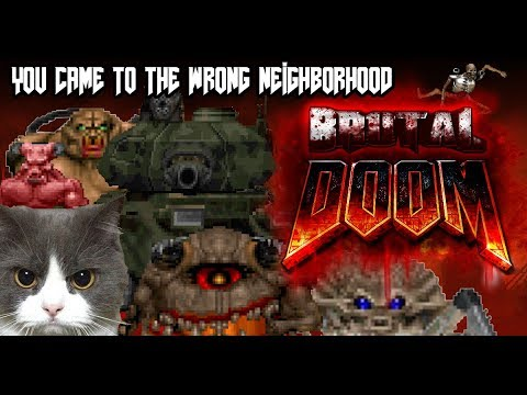 Brutal Doom v21 and Map Enhancement Script Showcase #1