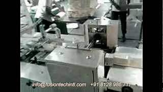 OVER WRAPPING MACHINE - HORIZONTAL FLOW WRAPPING MACHINE  FUSIONTECH