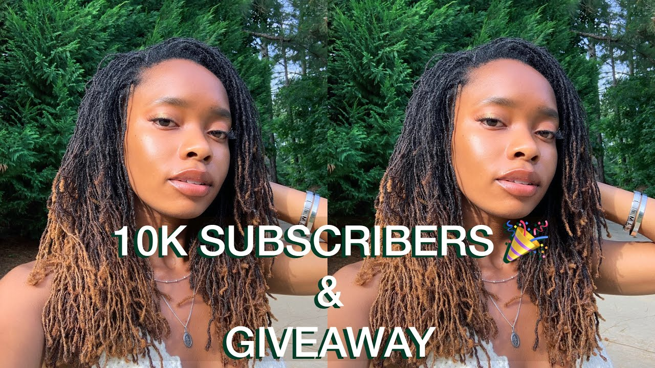 10k Subscribers!   where I've been, giveaway (CLOSED)