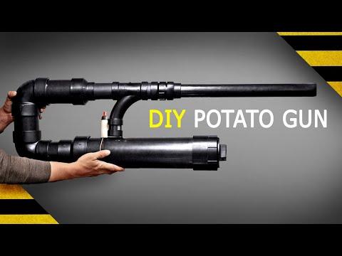 POTATO CANNON BUILD  |  tactical potato gun
