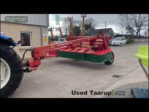 Used Taarup Kverneland 4032