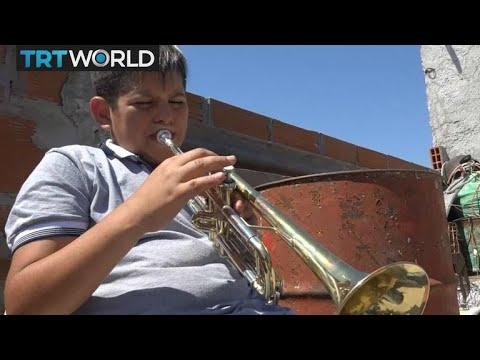 Argentina Youth Orchestra: Children musicians make music despite poverty