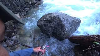 Поход, рыбалка на форель . Озеро Кара-Суу. Кыргызстан 2018.