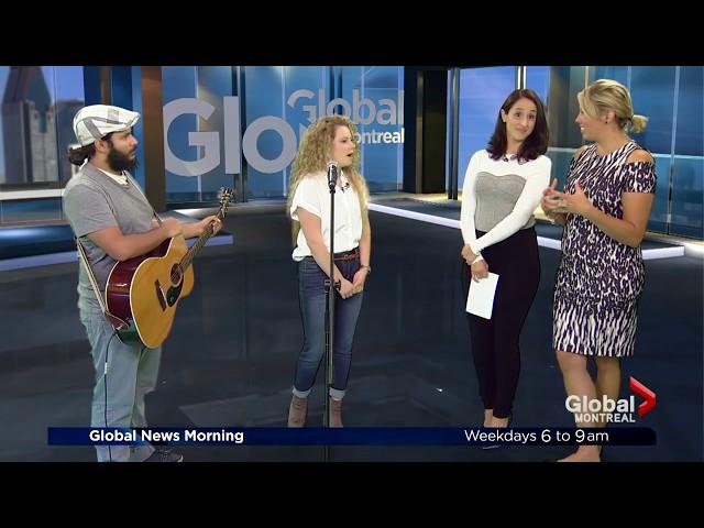 Justine Blanchet on Global News Morning