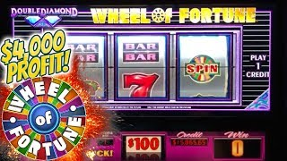 ✦ UP $4,000! ✦ Three Wheel Spin Bonuses at $100 a Spin! 🎰| The Big Jackpot
