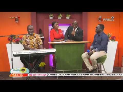 BERNARD AMPORFO LIVE ON TV AFRICA BREAKFAST SHOW