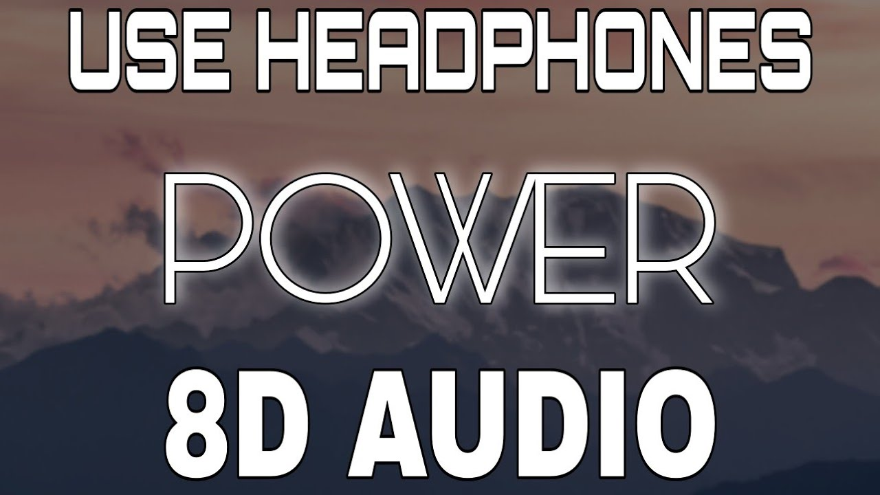 Power [8D AUDIO] Sidhu Moose Wala | The Kidd | 8D Punjabi Songs