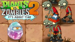 Plants Vs Zombies 2 Kung World: Crystal Wal-Nut In The House (China IOS Version)