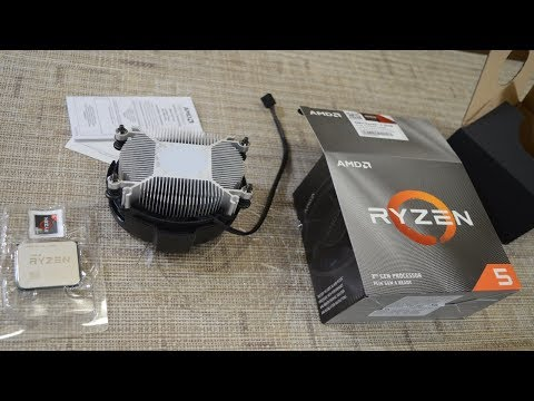 AMD Ryzen 5 3600 Unboxing & Installation