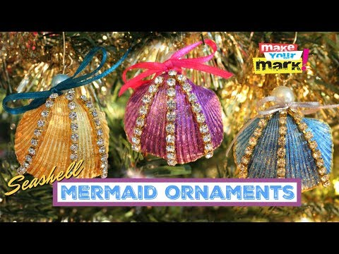 Seashell Mermaid Ornaments