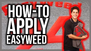 How to apply Siser EasyWeed on a T-shirt!