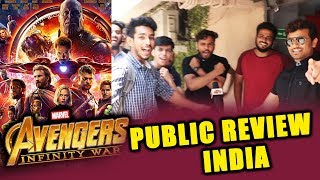 Avengers Infinity War PUBLIC REVIEW INDIA | First Day First Show | FANTASTIC MARVEL MOVIE