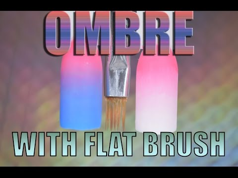 OMBRE WITH FLAT SQUARE BRUSH