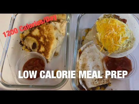 EASY MEAL PREP: MEALS UNDER 300 CALORIES