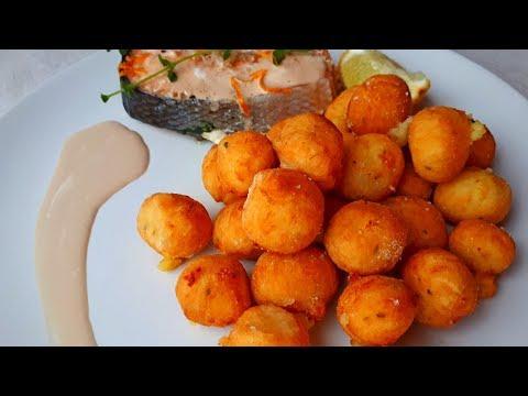 Картофель БУШЕ или картофельные шарики. Рецепты из картофеля.