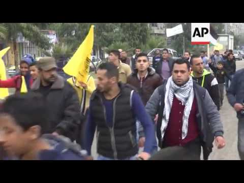 Gaza funeral for Palestinian killed in airstrike