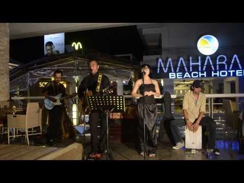 bongkar cover song live in rockabilly style