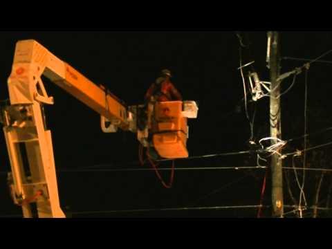 Réparation d'une panne électrique le 29-10-2014(Hydro-Québec)