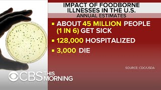What's behind the rise in foodborne illnesses?