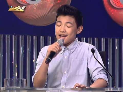 "Darren Espanto belts out Sia's ""Chandelier"" on It's Showtime"