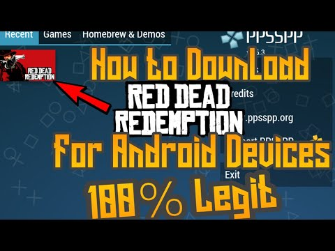 || Hindi || How To Download Red Dead Redemption For Android By Technical Boy Suhail