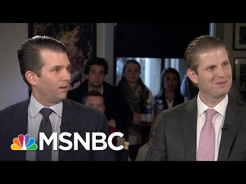 Trump's Son: He's An American And He's A Patriot | Morning Joe | MSNBC