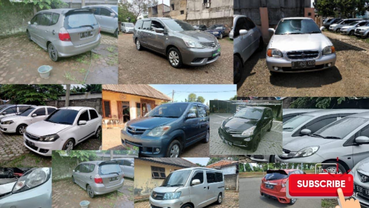 stok mobil murah dibatavia mobil harga mulai 20jutaan.