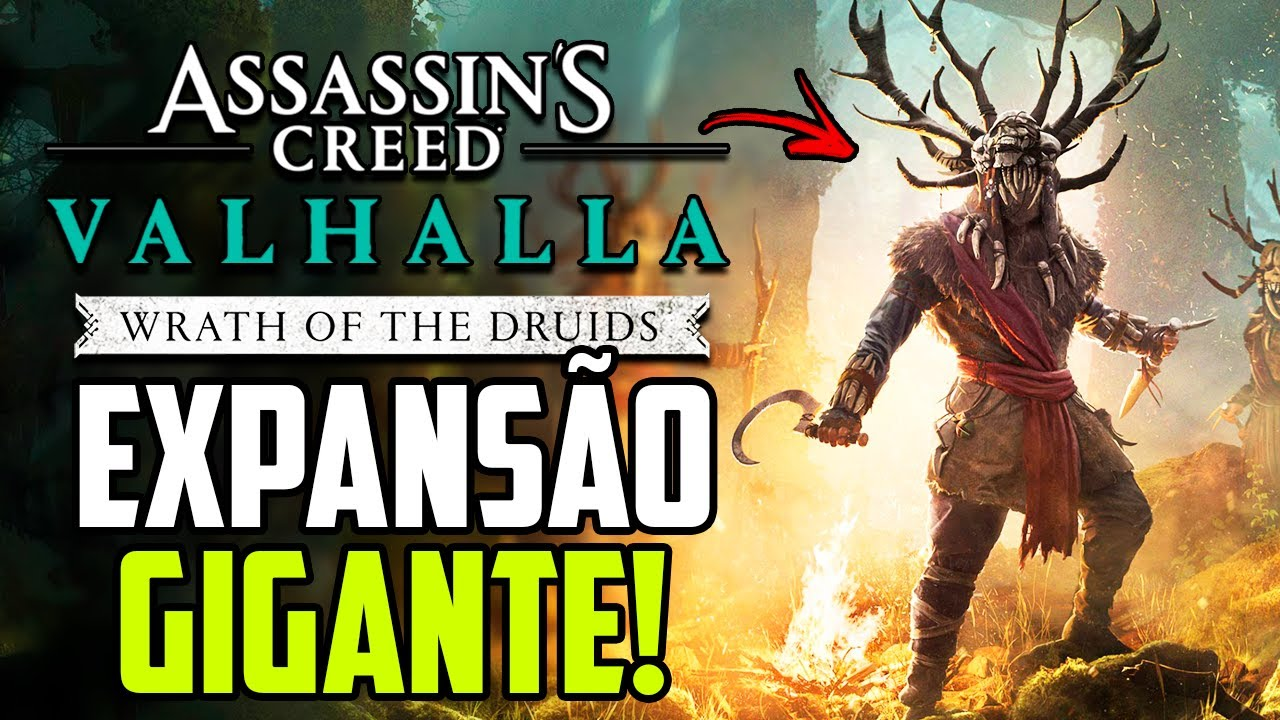 TUDO SOBRE A EXPANSÃO DE AC VALHALLA: IRA DOS DRUIDAS! ft. @Sidão do Game