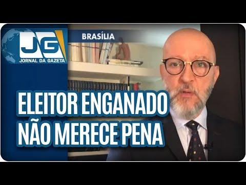 Josias de Souza/Eleitor enganado não merece pena