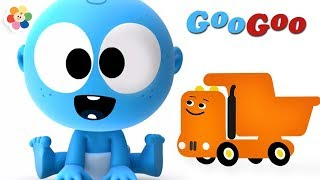 Learn Vehicles for Kids | Dumper Truck, Monster Truck & Other Vehicles | Learn Colors with Googoo