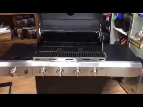 אולטרה מידי גריל גז קלאסיק 4 מבערים במבצע char broil classic 4 - YouTube AS-86
