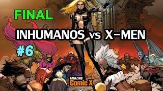 INHUMANOS vs X-MEN #06 - FINAL! - Comic en español - Narrado