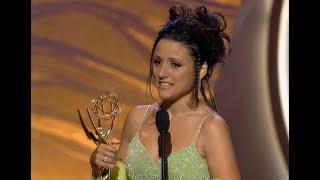 Julia Louis Dreyfus First Emmy Award Win (1996) | Seinfeld