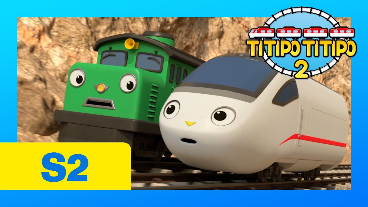 TITIPO S2 EP3 l Diesel is Different l Train Cartoons For Kids l TITIPO TITIPO 2
