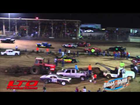 """Pure Stock """"A"""" Main from Belle Clair Speedway in Belleville IL"""