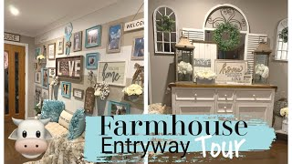 FARMHOUSE ENTRYWAY TOUR | FARMHOUSE INSPIRATION
