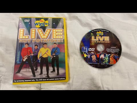 Opening to The Wiggles live hot potatos 2005 screening DVD